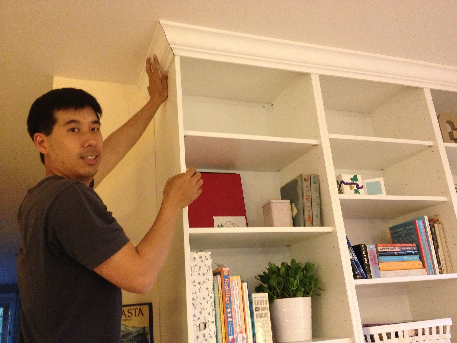 IKEA Hack 2: Besta Built-In Family Room TV Bookshelf – Shirley ...